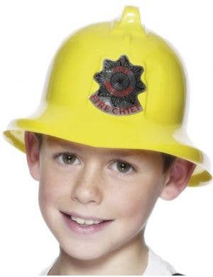 Fire Chief Kids Budget Hat