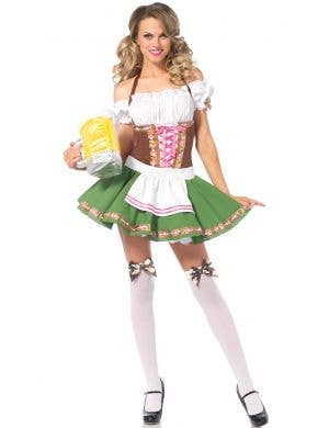 Women's Sexy Green German Girl Costume