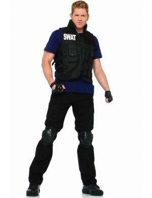 Men's SWAT Brigade Fancy Dress Costume Front