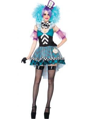 Sexy Mad Hatter Women's Fairytale Costume Main View