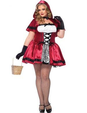 Plus Size Women's Sexy Little Red Riding Hood Costume