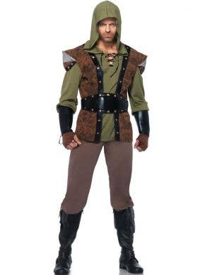 Men's Robin Hood Arrow Fancy Dress Costume Main View