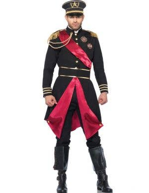 Russian Military General Men's Fancy Dress Costume Front View