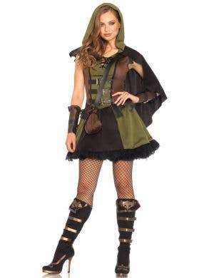 Robin Hood Sexy Women's Fancy Dress Costume
