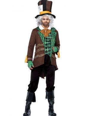 Men's Deluxe Mad Hatter Leg Avenue Costume Main