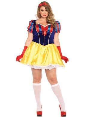 Sexy Plus Size Snow White Women's Costume Main View