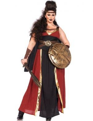 Roman Warrior Plus Size Women's Deluxe Costume Main View