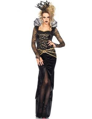 Deluxe Women's Sexy Wicked Queen Costume Front View