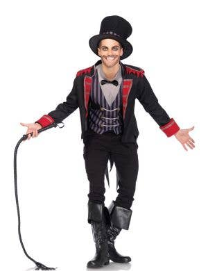 Evil Ringmaster Men's Halloween Costume Main View