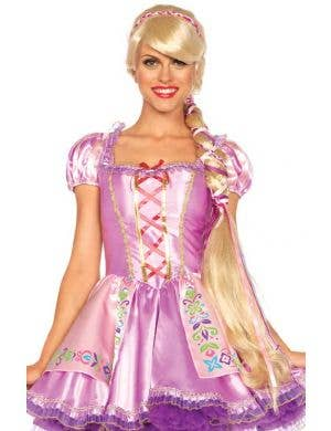 Long Rapunzel Deluxe Women's Costume Wig