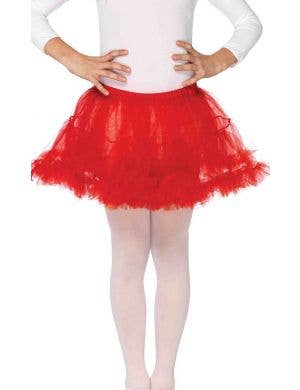 Enchanted Girl's Red Petticoat Costume Accessory
