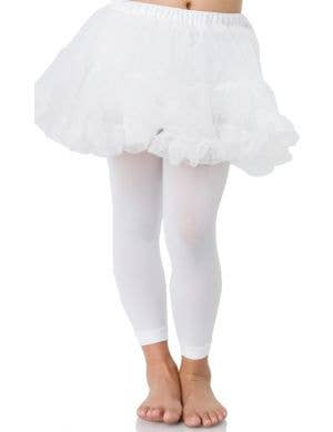 Enchanted Girl's White Petticoat Costume Accessory