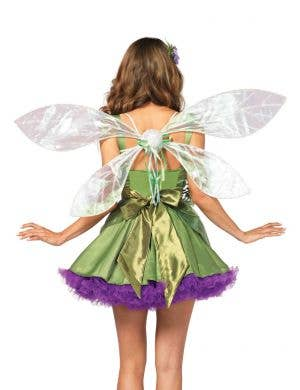 White Iridescent Tinkerbell Pixie Wings