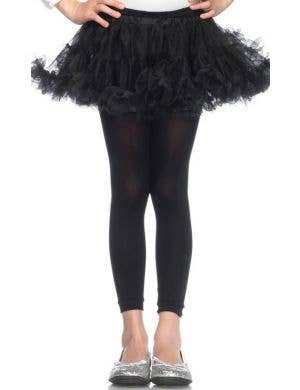 Enchanted Girl's Black Petticoat Costume Accessory