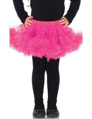 Enchanted Girl's Pink Petticoat Costume Accessory