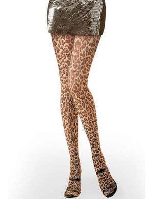 Women's Sexy Leopard Print Costume Stockings
