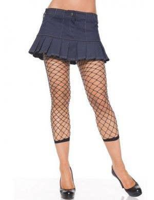 Women's Fence Net Costume Leggings by Leg Avenue