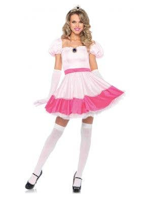Women's Sexy Princess Peach Costume