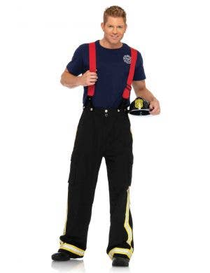 Men's Fire Captain Fancy Dress Costume Main Image