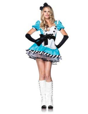 Sexy Alice in Wonderland Women's Costume Front Image