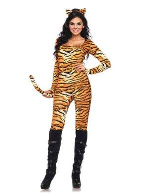 Sexy Tiger Women's Fancy Dress Costume Main Image