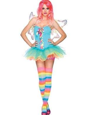 Rainbow Fairy Sexy Women's Costume