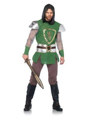 Medieval Knight Deluxe Men's Costume Main Image