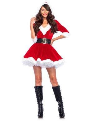 Sexy Santa Women's Christmas Fancy Dress Main Image