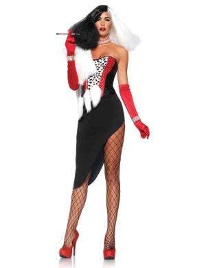 Sexy Cruella De Vil Women's Halloween Costume