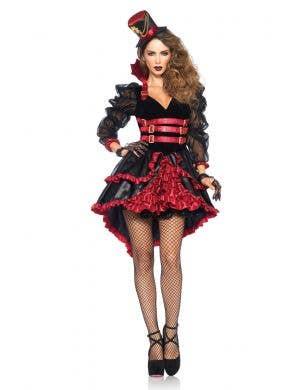 Women's Sexy Victorian Vampire Halloween Costume Main Image