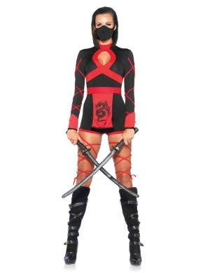 Japanese Ninja Sexy Women's Costume Front View