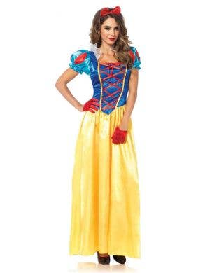 Classic Snow White Women's Disney Costume Front View