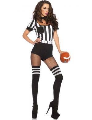 No Rules Women's Sexy Referee Fancy Dress Costume