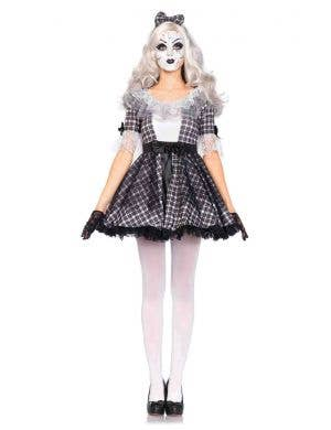 Porcelain Doll Women's Halloween Fancy Dress Costume