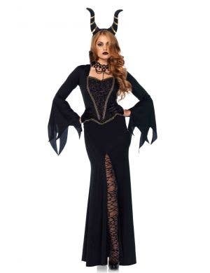 Deluxe Women's Maleficent Halloween Costume Main Image