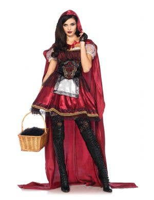 Deluxe Red Riding Hood Sexy Women's Costume Main Image