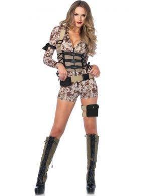 Battlefield Babe Women's Sexy Army Costume