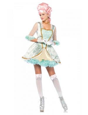 Women's Deluxe Marie Antoinette Fancy Dress Front Image