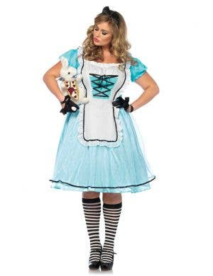 Plus Size Sexy Alice In Wonderland Costume Main Image