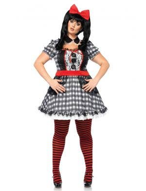 Evil Doll Plus Size Women's Halloween Costume Main Image