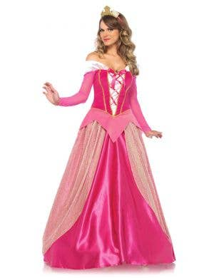 Sleeping Beauty Deluxe Women's Disney Princess Costume Main Image