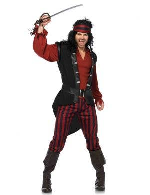 Pirate Captain Deluxe Men's Costume Main Image