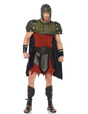 Men's Deluxe Roman Gladiator Costume Main Image