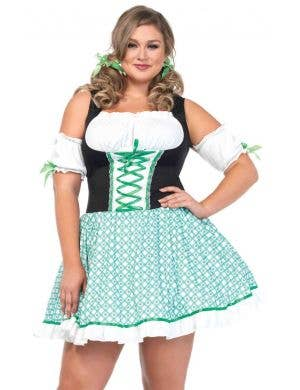 Sexy Womenu0027s Plus Size St Patricks Day Irish Costume Front ...  sc 1 st  Heaven Costumes & Shop Leprechaun Costumes and Accessories | Heaven Costumes Australia