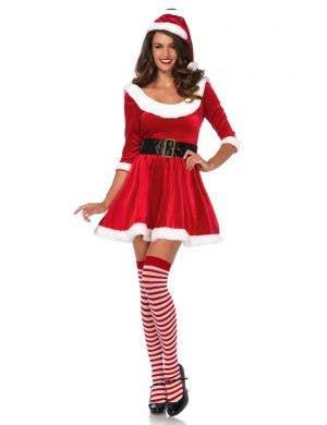 Santa Sweetie Leg Avenue Sexy Women's Christmas Costume Front