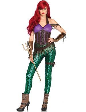 Rebel Mermaid Women's Fancy Dress Costume