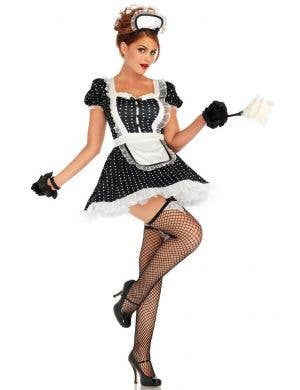 Women's Sexy French Maid Frisky Frenchie Costume View 1
