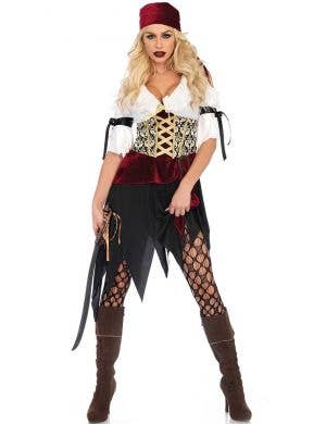Women's Sexy Pirate Wench Costume Front View