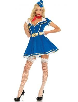 Sky High Hottie Women's Flight Attendant Costume