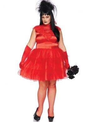 Beetle Bride Women's Sexy Plus Size Lydia Halloween Costume